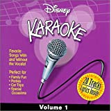 Disney Karaoke Series: Vol. 1-Karaoke