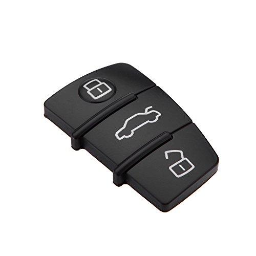 DON LLAVE® Botonera de remplazo para llave de Audi A1, A3, A4, A6, TT de 3 botones
