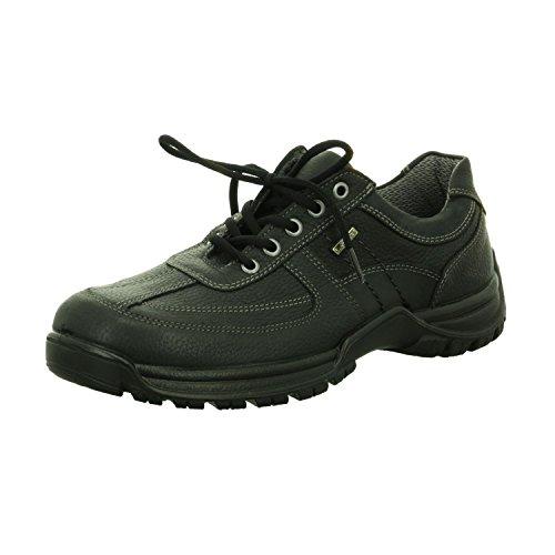 Jomos 415801-346-000 1737509040, Zapatos Negros Con Cordones Para Hombres