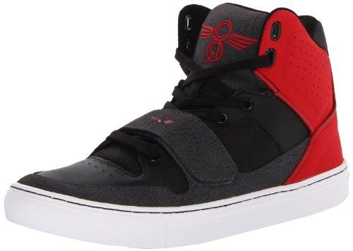Creative Recreation Les Cota, Baskets mode homme Noir (Black/Red Smoke)