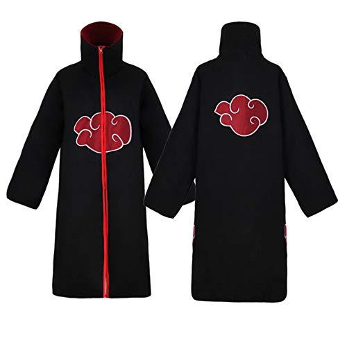 hhalibaba Anime Naruto Cosplay Kostüme Siebten Hokage Mantel Naruto Cape Outfit Halloween Party Kleidung