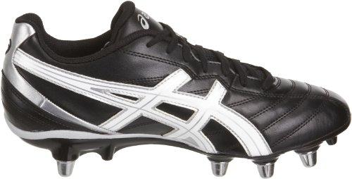 Asics  Lethal Scrum, Chaussures de rugby pour homme Noir - Nero (Black)
