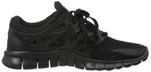 Nike Damen Wmns Free Run 2 Ext Sneakers Schwarz (All Black)