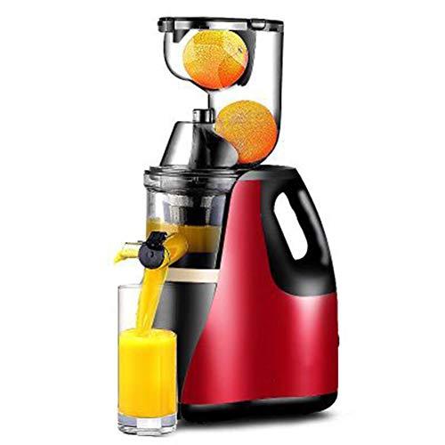 FENG&HE Kompakt Slow Juicer,Saftpresse Für Obst Und Gemüse Mit Benutzerfreundliches Griffdesign,Rücklauffunktion,Geräuschlosem Motor Nährstoffreichen Saft