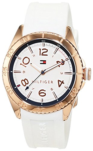 Tommy Hilfiger Damen-Armbanduhr Everyday Sport Analog Quarz Silikon 1781636