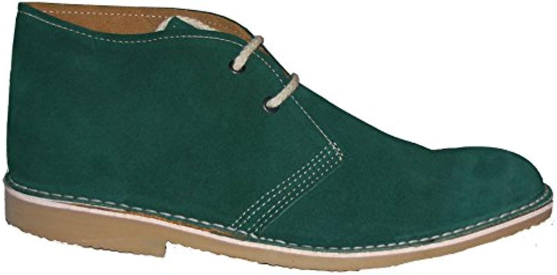 Desert Boots   Stiefelette   Ankle Boot  Herren   Jungs   Echtleder (45)