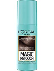 L'Oréal Paris Magic Retouch Spray Retouche Racine Instantané Chtain Foncé 75 ml