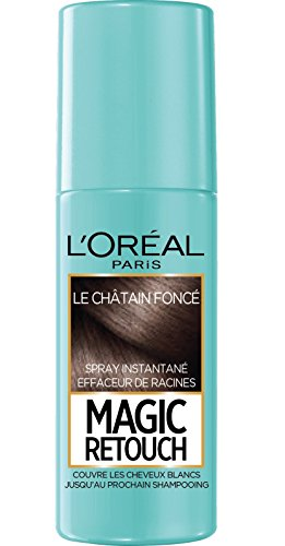 L'Oréal Paris Magic Retouch Spray Retouche Racine Instantané Châtain Foncé 75 ml