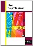 Mathématiques Bac Pro 2e - Livre du professeur