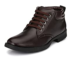 Mactree Mens Brown Genuine Leather Boots 2805-10