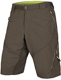 ENDURA Hummvee Short II Pantalón Corto de Ciclismo, Hombre, Verde (Kaki),