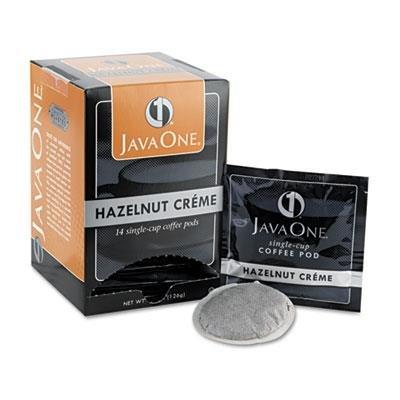 Java 70500 Einzel-Cup Kaffeepads Haselnuss Creme 14 Pods/Box