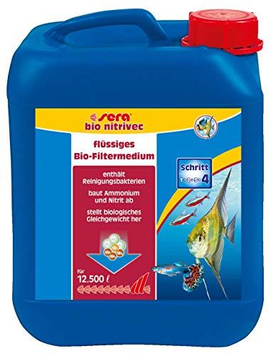 sera 03780 bio nitrivec 5 Liter - Das Flüssigfiltermedium der Extraklasse - biologischer Wasseraufbereiter fürs Aquarium