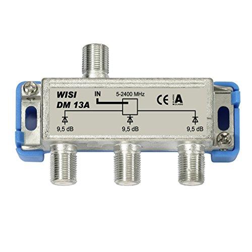 WISI DM 13 A, SAT-Verteiler, 3-fach, 9,5 dB