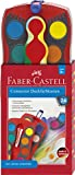 Faber-Castell 125031 - Farbkasten CONNECTOR mit 24 Farben, inklusive Deckweiß