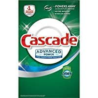 Cascade Advanced Power Dishwasher Powder with Dawn 155 Oz (4.39 Kg) 9.68 LB Detergent Grease Fighting Power Fresh Scent