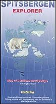 Spitsbergen Explorer Map by Ocean Explorer Maps
