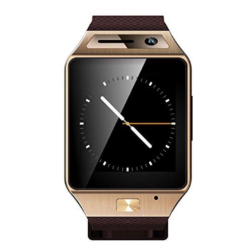 Galleria fotografica 2016 SIM/TF Bluetooth intelligente guardare GV08S per Huawei PK M26 GT08 A1 DZ09 wrist watch per apple/Android phone smartwatch iphone/samsung Austec