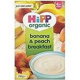Hipp biologique Banana & Breakfast Peach 4mois + (230g) -