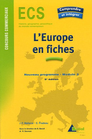 L'Europe en fiches par Jean-François Malterre