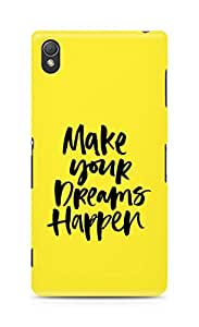 AMEZ make your dreams happen Back Cover For Sony Xperia Z3