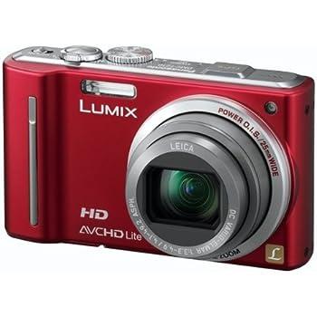 panasonic lumix tz10 digital camera red 3 0 inch lcd amazon co uk rh amazon co uk panasonic lumix tz80 user guide panasonic lumix tz10 user manual