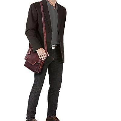 STILORD 'Pete' Petite Sacoche Bandoulière pour Hommes Sac Messager Vintage Sac à l'Épaule Besace en Cuir pour Tablette 8,4 Pouces