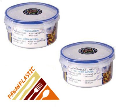 Lock & Fit Multipurpose Round Food Storage Container Set of 2 ( 200 ml each)  available at amazon for Rs.149