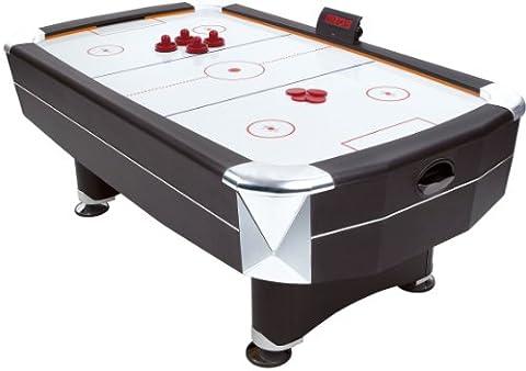Mightymast Leisure Vortex Air Hockey Table - Black, 7 Ft