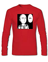 One Punch Man Saitama OK For Mens Long Sleeves Outlet