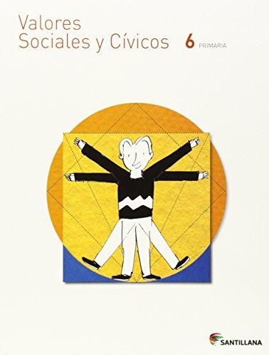 Valores sociales y civicos 6 primaria
