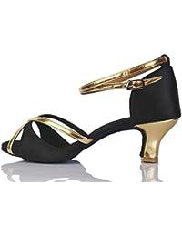 8698a0c59d3ea TRIWORIAE-Chaussures de Danse Latine Talons Hauts Sandales Femme