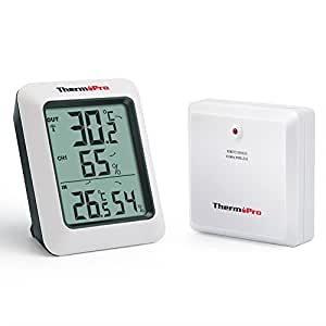 thermopro tp60 funk thermo hygrometer klima monitor mit. Black Bedroom Furniture Sets. Home Design Ideas