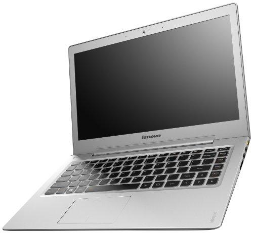 Lenovo IdeaPad U330P 33,7 cm (13,3 Zoll HD) Notebook (Intel Core i5 4200U, 2,7GHz, 4GB RAM, Hybrid 500GB SSHD(8GB), Intel HD Graphics 4400, kein Betriebssystem) grau
