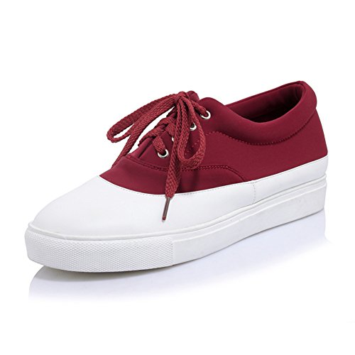 Coréenne fashion ladies chaussures occasionnelles/coloris assortis chaussures/Chaussures plates/Chaussures lacées/Chaussures étudiants sauvages B