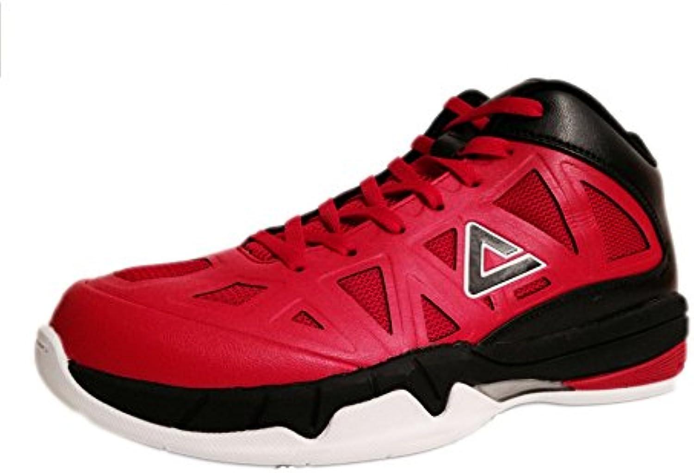 Peak peakgame 1 blanco/azul – Zapatillas Basket, rojo/negro, 47  -
