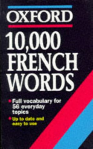 10, 000 French Words (Oxford Reference)