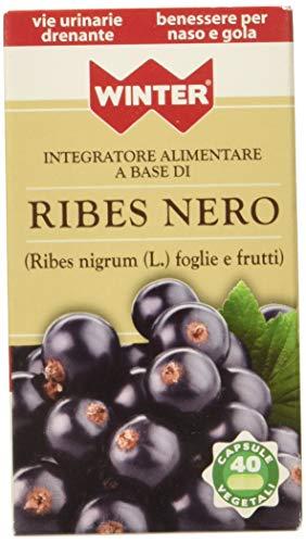Winter Ribes Nero Vegetali - 1 x 40 Capsule