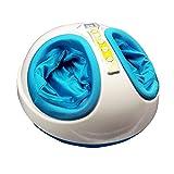 HIXGB Masseur de Pieds Shiatsu Machine de Massage des Pieds Massage par Pétrissage Profond avec Taraudage, Compression à L'air, Chaleur et Grattage D'intensité Réglable pour la Fasciite Plantaire