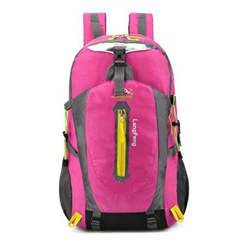 Männer Wandern Rucksack Wochenende Pack Cover Für Camping Reisen Wandern Rucksack 30 Liter Heißes Rosa