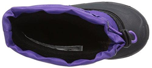 Kamik Tickleeu, Bottes en caoutchouc à tige basse et doublure chaude mixte enfant Violet (purple-violet / Pur)