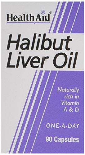 HealthAid Halibut Liver Oil - 90 Capsules Test