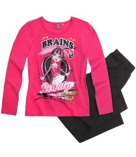 Monster High Pyjama schwarz (152)