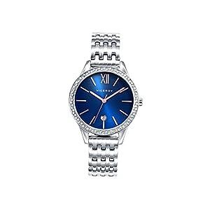 Viceroy Reloj Analógico para Mujer de Cuarzo con Correa en Acero Inoxidable
