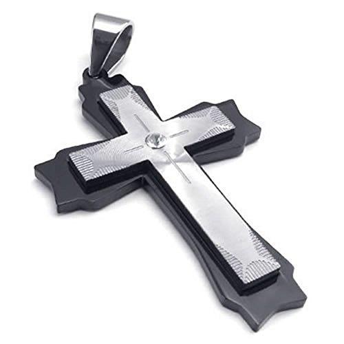 anazoz-acciaio-inossidabile-nero-18-26-polici-catena-croce-ciondolo-collana-gros-uomo-catena
