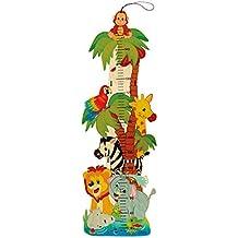 Hess Spielzeug 14626 medidor de altura para niños Multicolor Madera - Medidores de altura para niños