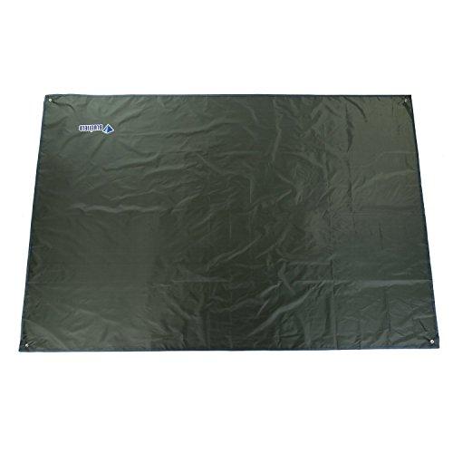 Outad multi-uso stuoia per campeggio / picnic contro l'umidità telo per escursionismo (verde scuro, 240 x 220 cm)