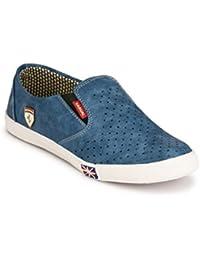 Franklien Men's New Latest Fashionable Men's Blue Color Stylish And Comfartable Loafer | Loafer Shoes For Men'...