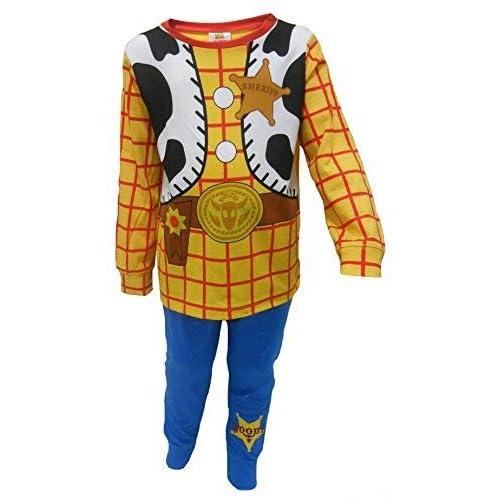 Niños Toy Story Buzz Lightyear o Woody Vestir Pijamas 18-24m 2-3y 2