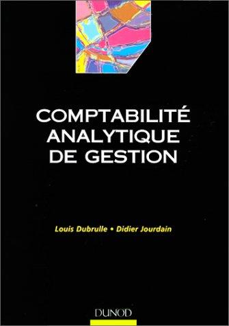 Comptabilit analytique de gestion